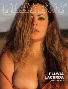 okładka Playboy Brasil z Fluvią