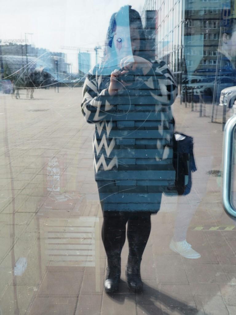lala na Śląsku plus size selfie