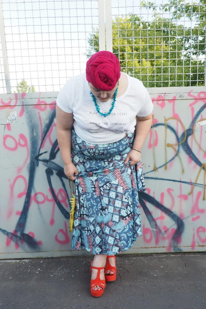 moda plus size - cała sylwetka
