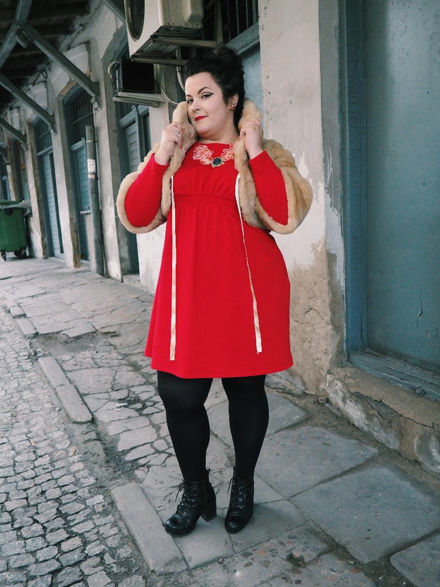 potargana dama moda plus size11