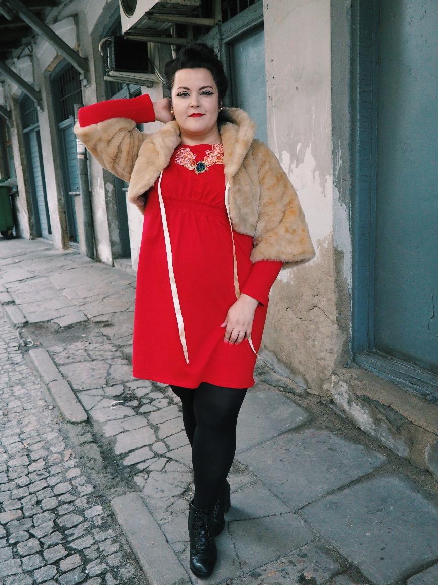 potargana dama moda plus size12