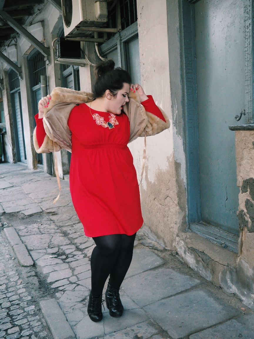 potargana dama moda plus size14