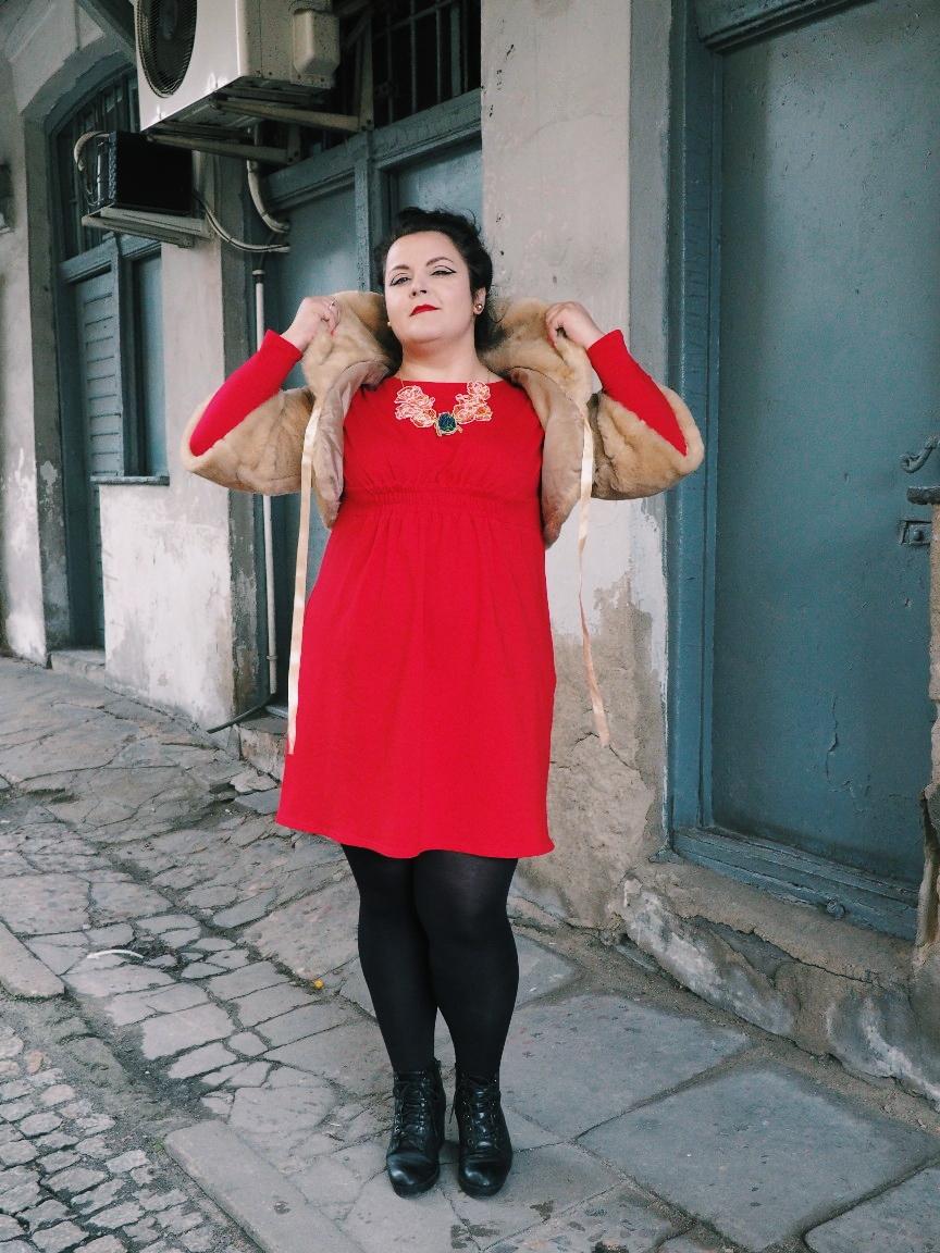 potargana dama moda plus size19