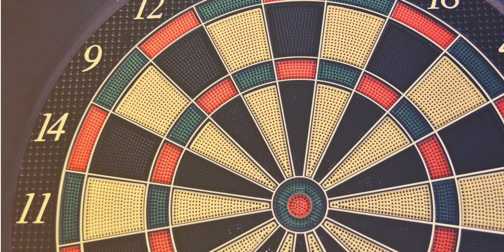 fragment tarczy do dartów