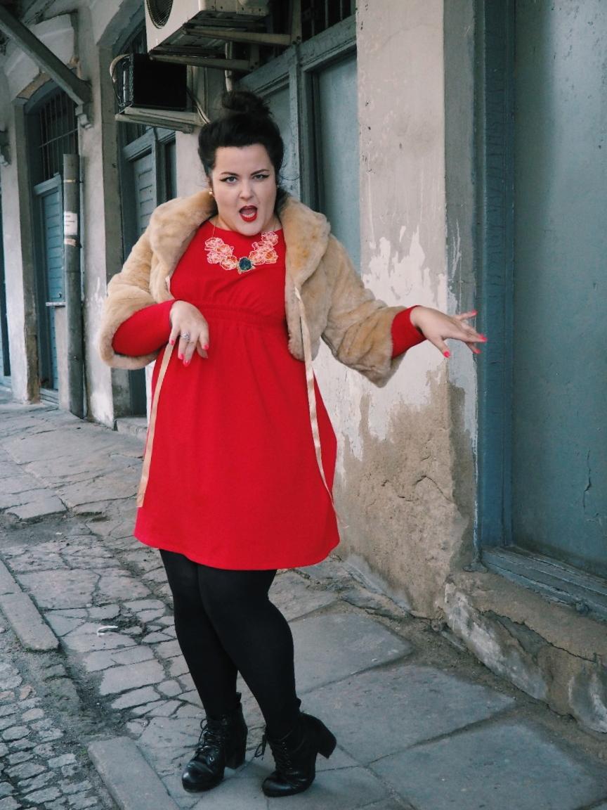 potargana dama moda plus size10