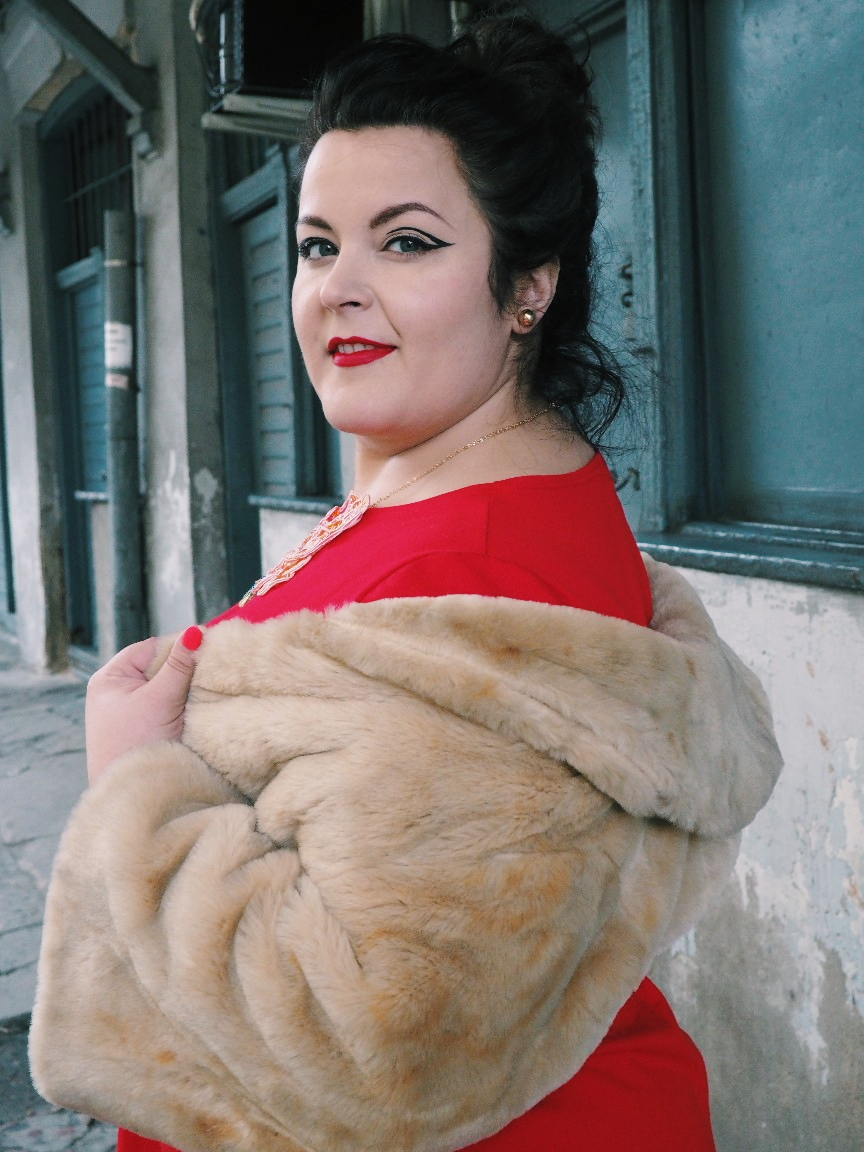 potargana dama moda plus size16