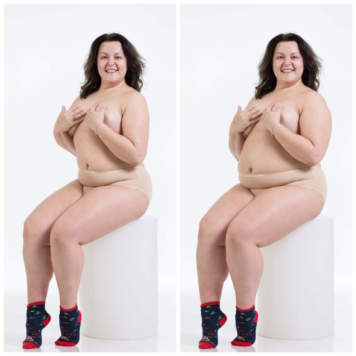 Plus size body positive