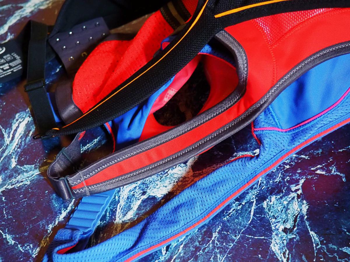biustonosze sportowe plus size - ramiączka